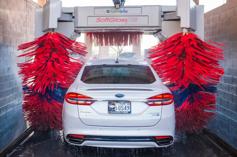 can i take my electric car in a car wash