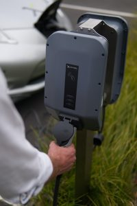 example of a level 2 home charging station