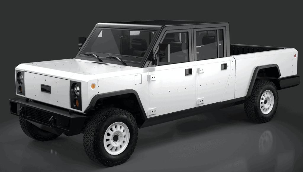 Bollinger B2 electric truck maker