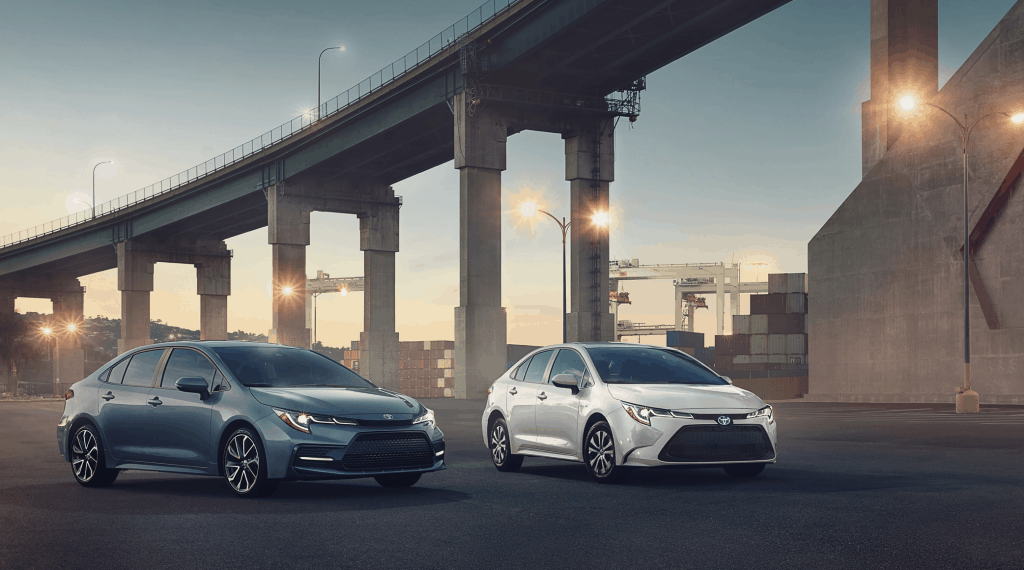 Toyota Corolla Hybrid self-generating electric car