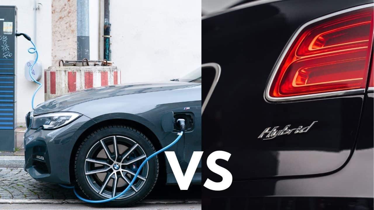electric vehicle or hybrid car