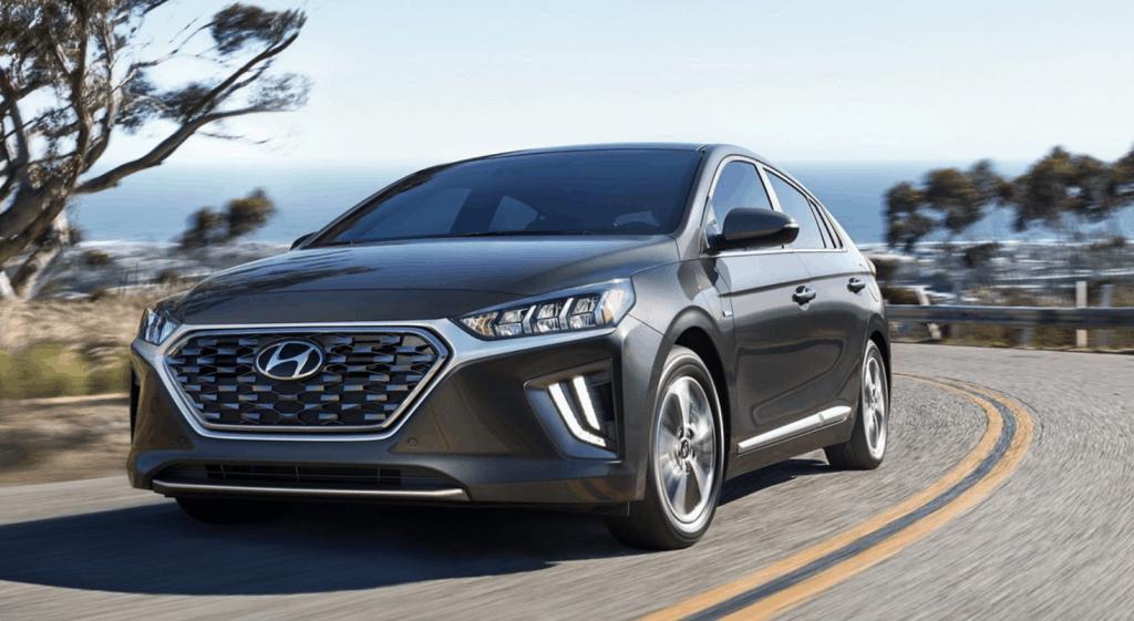 hyundai ioniq plug-in hybrid self-generating car