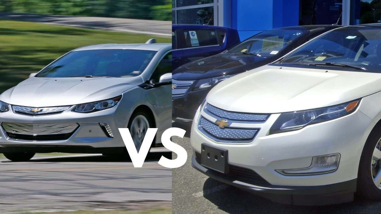 what is difference between the chevy bolt vs volt